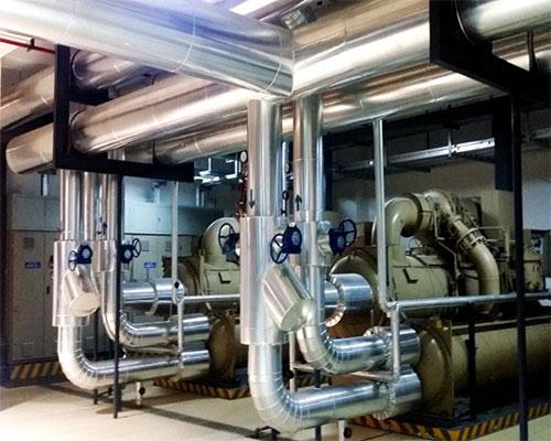 冷水机组安装