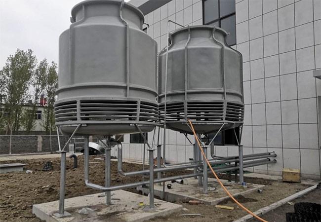 淄博桓台药厂冷水机房安装
